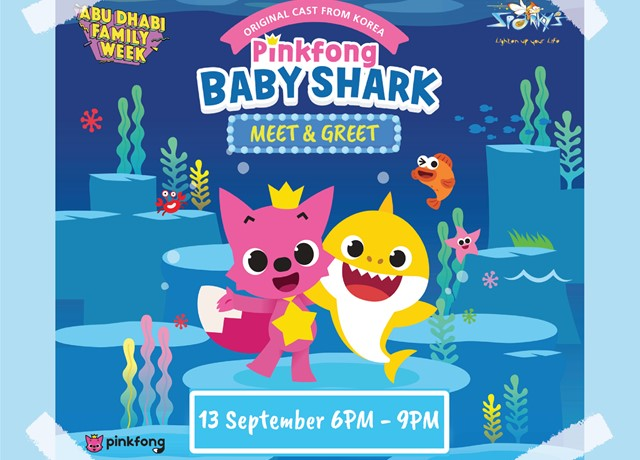 Pinkfong Baby Shark Meet & Greet